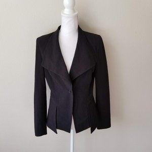 Venus / Medium / Black One Button Blazer